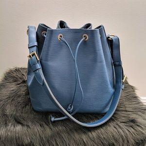 Louis Vuitton Petite Noe Epi Blue